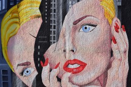 Art of woman depicting the anguish of divorce